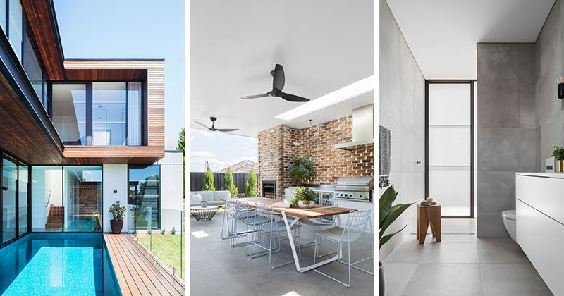 Lot 1 Design has completed the Preston House, a light-filled modern home for a family of five, in Sydney, Australia. #Architecture #InteriorDesign
