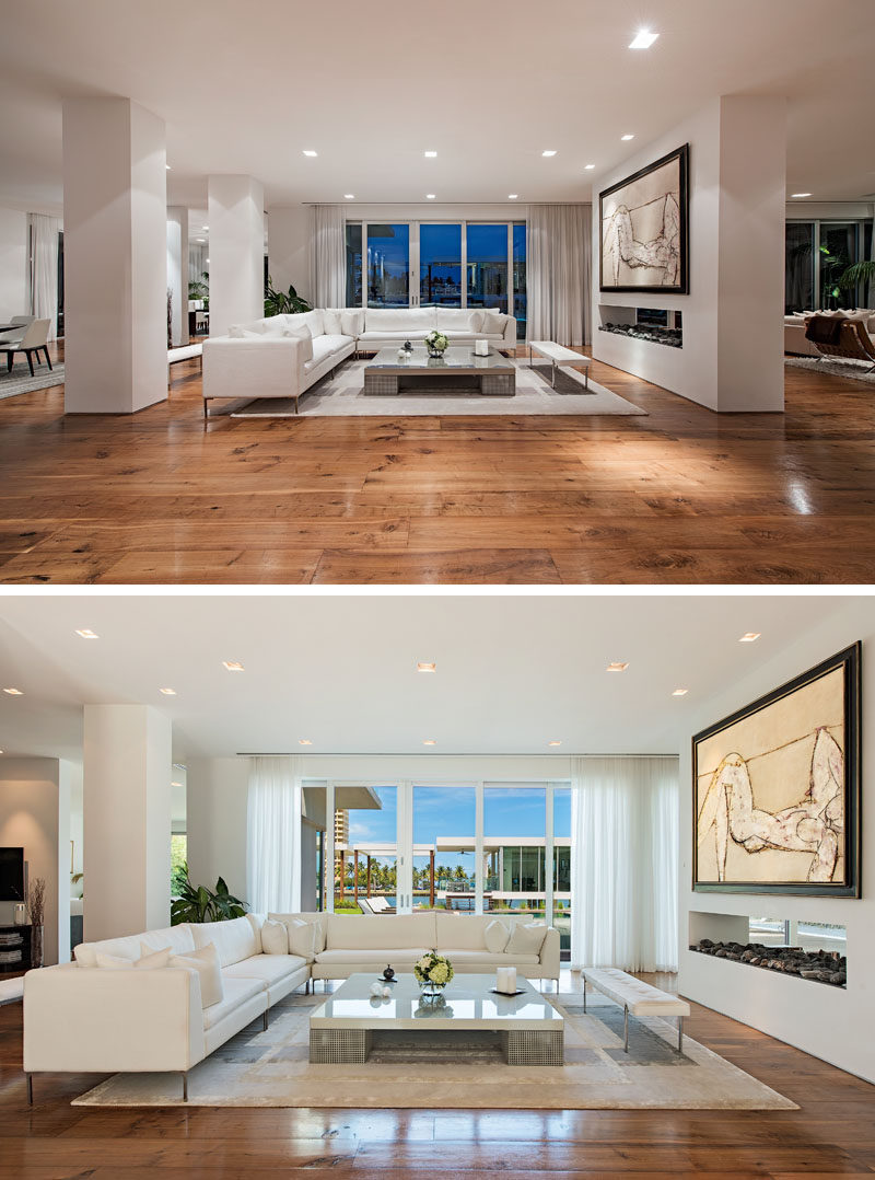 Inside This Modern House, European White Oak Floors Are Featured  Throughout, And A Double