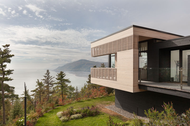 This Hillside Home Was Designed To Capture The Amazing Views Of The Saint Lawrence River