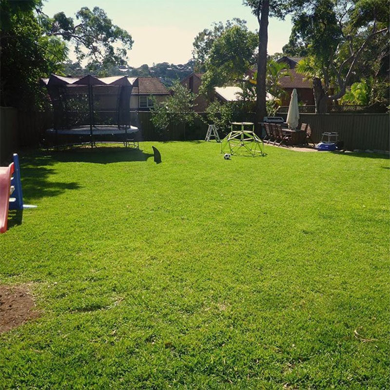 This Backyard Was Transformed Into A Small House With A ...