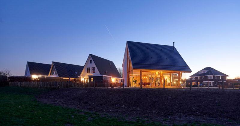 A Creative Update For The Standard Dutch Barnhouse