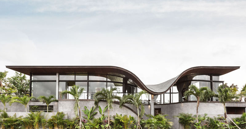This House Design Was Inspired By The Shape Of A Sound Wave