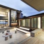 An Australian Beach House With A Sand-Filled Interior Courtyard