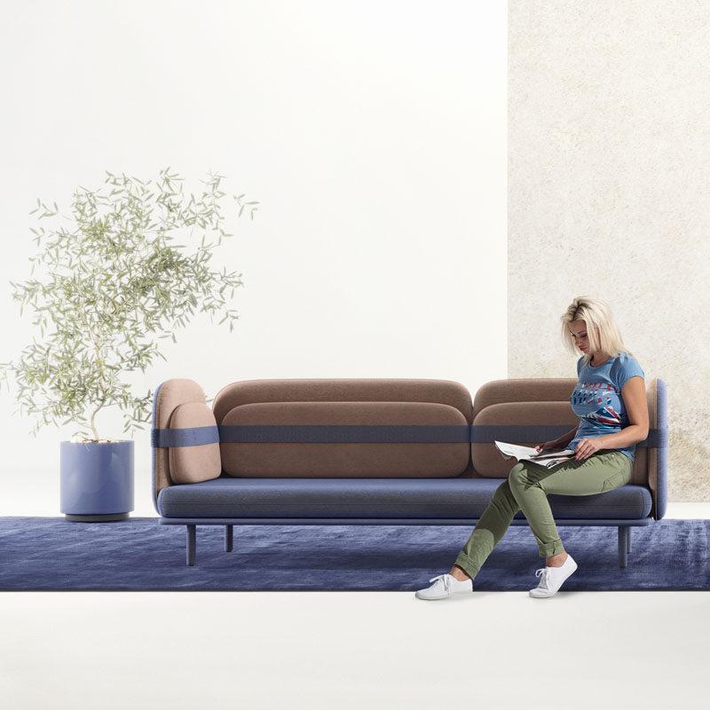 Bandage Sofa by Olga Bogdanova and Elena Prokhorova #ModernCouch #ModernSofa #ModernFurniture