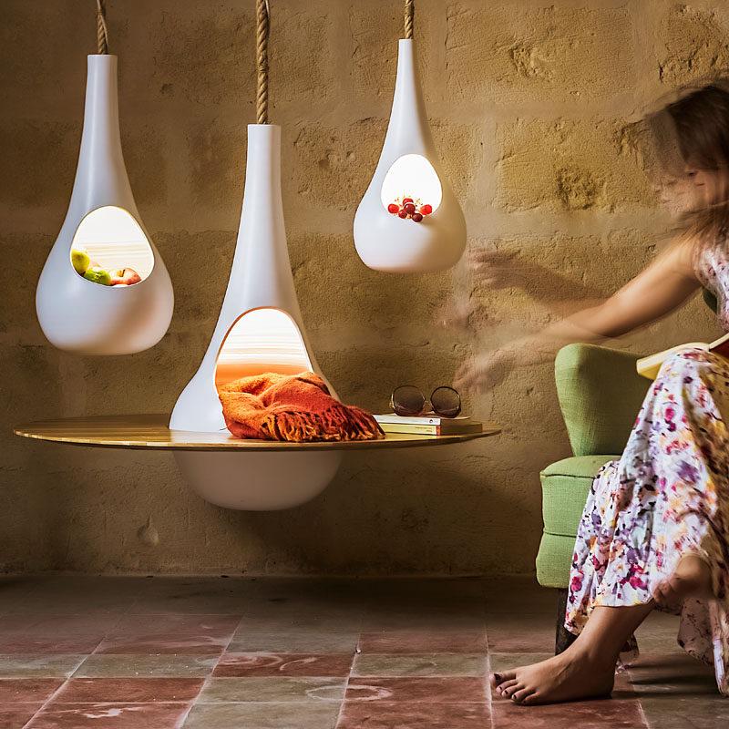 Goccia Container by Giuliano Ricciardi #Design #Shelf #Lighting #Decor