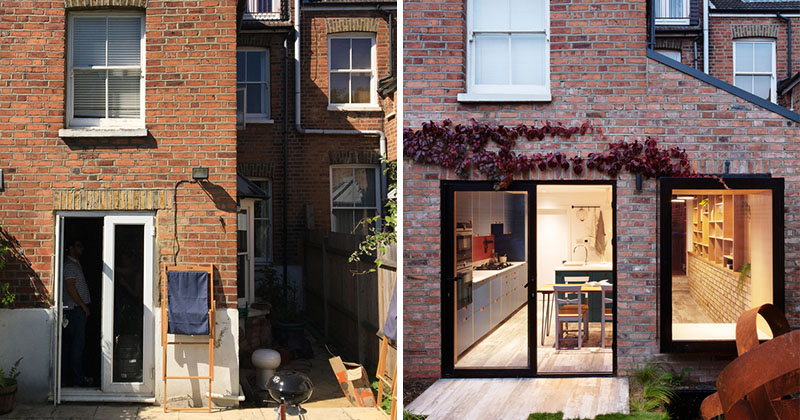 A Side Extension Was Added To This Victorian Terrace House In London