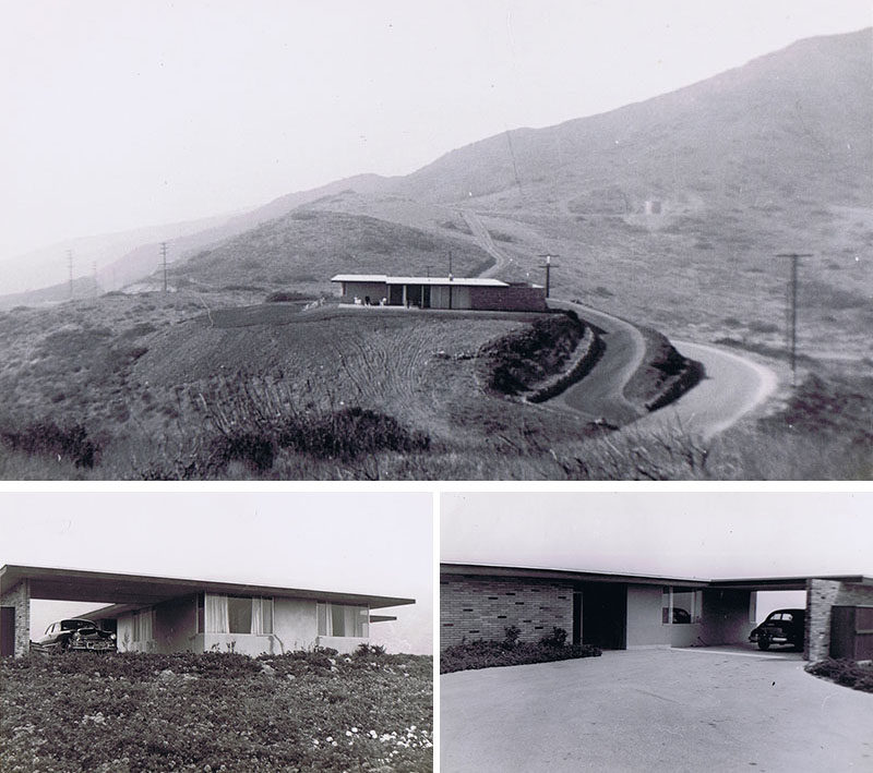 This original house was built in 1949 and was the first home/building constructed in the Malibu Knolls region of Malibu.  #HouseDesign #Architecture