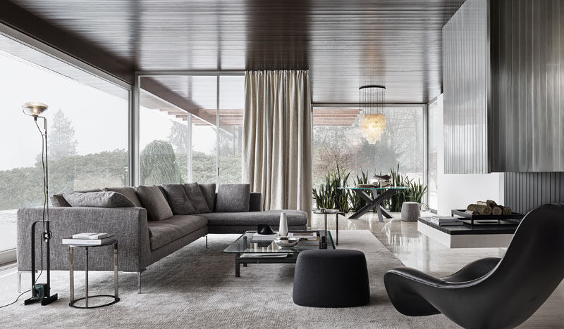 After more than 20 years since its creation, the Charles sofa designed by Antonio Citterio, is considered a timeless classic for B&B Italia. #ModernFurniture #ModernSofa #ModernCouch