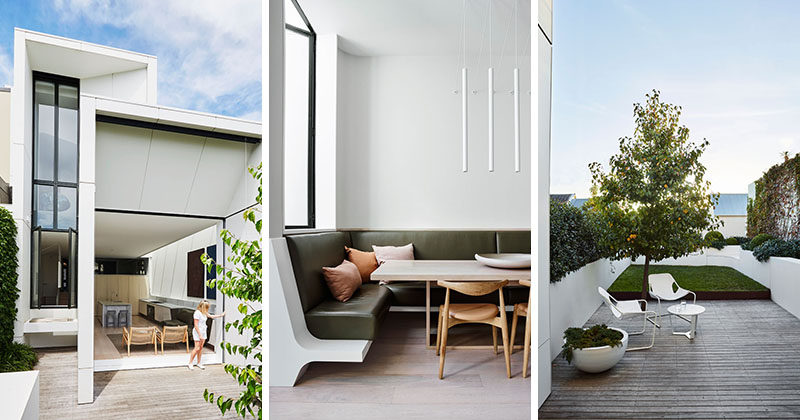 Smart Design Studio have completed the transformation of a traditional Victorian house in Sydney, Australia, as well as adding an extension to the rear of the home. #ModernArchitecture #ModernInteriorDesign
