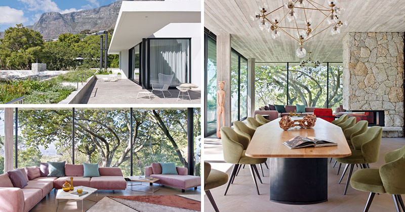 The Eden Villa Is Nestled On The Slopes Of Table Mountain In Cape Town