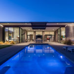 Sandblasted Concrete Blocks Provide This Home With Desert Modern Style