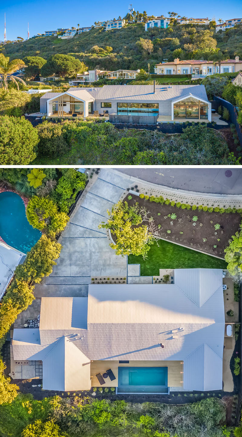 The Brown Studio, Inc. together with dasMOD, have completed a new modern house in La Jolla, California, that draws inspiration from Scandinavian farmhouses. #Architecture #ModernHouse