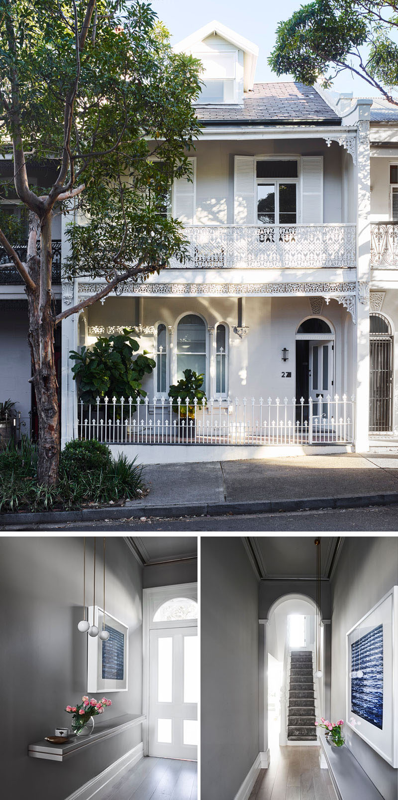Smart Design Studio have completed the transformation of a traditional Victorian house in Sydney, Australia, as well as adding an extension to the rear of the home. #ModernUpdate #ContemporaryInterior