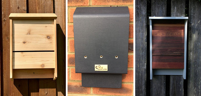 Bats are a great way to help with reducing the number of bugs and mosquitoes that surround a property. One way to encourage bats to live near your home is to install a bat house. #BatHouse #BatBox #BatNestingHouse