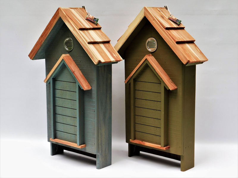8 Bat Houses To Help Combat Mosquitoes And Bugs Around