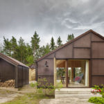 Blackened Plywood Covers The Exterior Of This Swedish Summer House