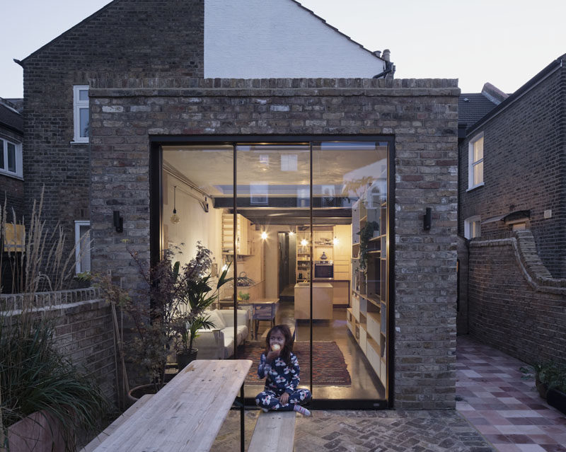 A London House Gained Extra Living Space Thanks To Rise Design Studio