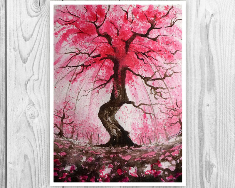 25 Ideas For Including Cherry Blossom Wall Art In Your Home