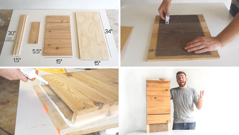 DIY Bat House - Mike Montgomery of Modern Builds, explains how to build a bat house from simple materials that can be found at your local hardware store. #BatHouse #BatBox #DIY