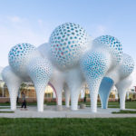 3,564 Parts Have Been Used To Create This Cloud-Like Sculpture In North Carolina