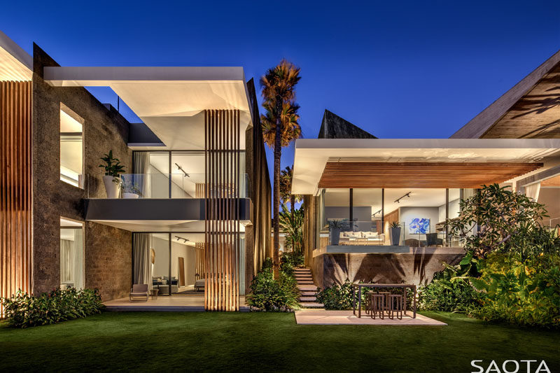 SAOTA Has Recently Completed Uluwatu, Their First Project In Bali,  Indonesia, Thatu0027s Designed