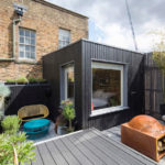 A Blackened Wood Addition Created Space For Another Bedroom At This House In London