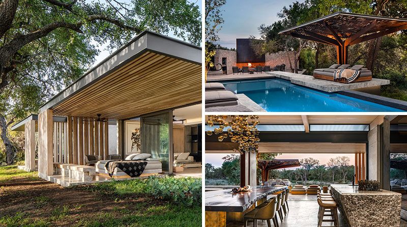 ARRCC has recently completed the new Cheetah Plains game lodge, that's located in the Sabi Sand Game Reserve in the Kruger National Park, South Africa. #Travel #GameReserve #GameLodge #Architecture