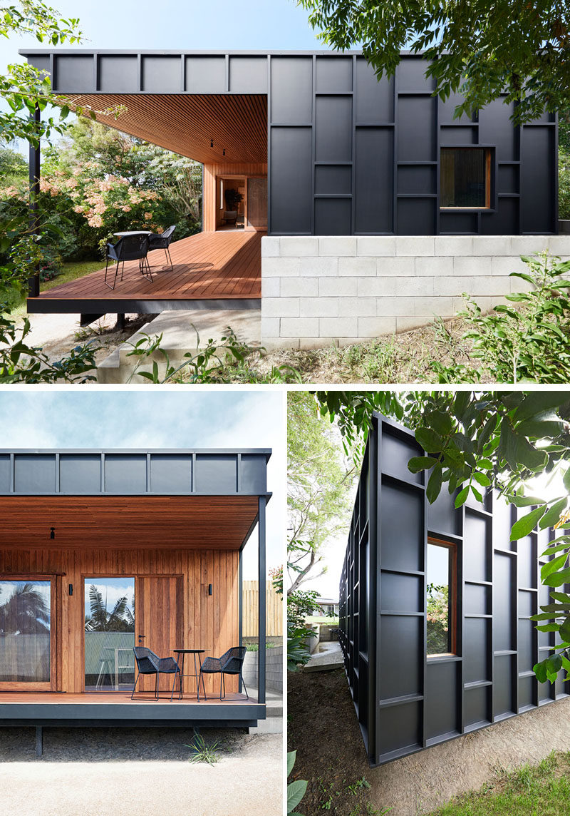 House Siding Ideas - This Modern House Was Clad In Black ... on House Siding Ideas  id=62605