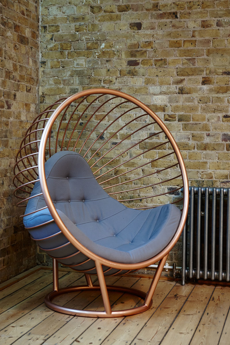 British designer Ben Rousseau has launched this latest furniture collection that pays homage to the original 1968 bubble chair by Eero Aarnio. #BubbleChair #ModernFurniture #FurnitureIdeas #Seating