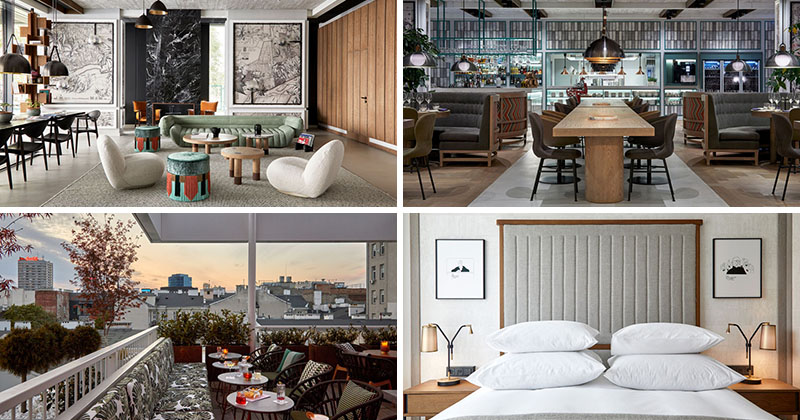 The Puro Hotel In Warsaw Has Been Designed With Vintage