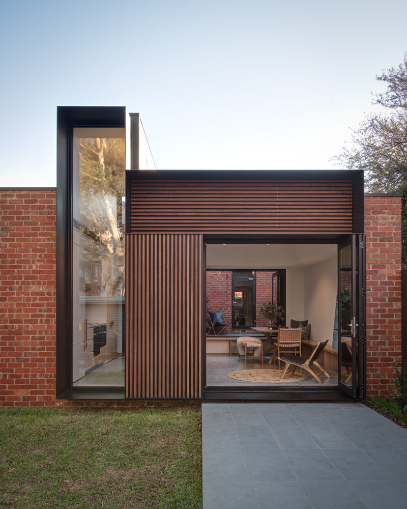 Modern Home Additions: This House Addition Has Forms Arranged In A Tetris-Like