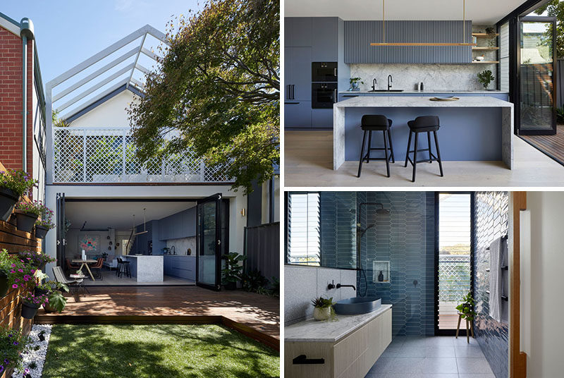 Blank Canvas Architects have recently completed the modern renovation of a workers cottage in Port Melbourne, Australia. #ModernRenovation #Architecture #InteriorDesign