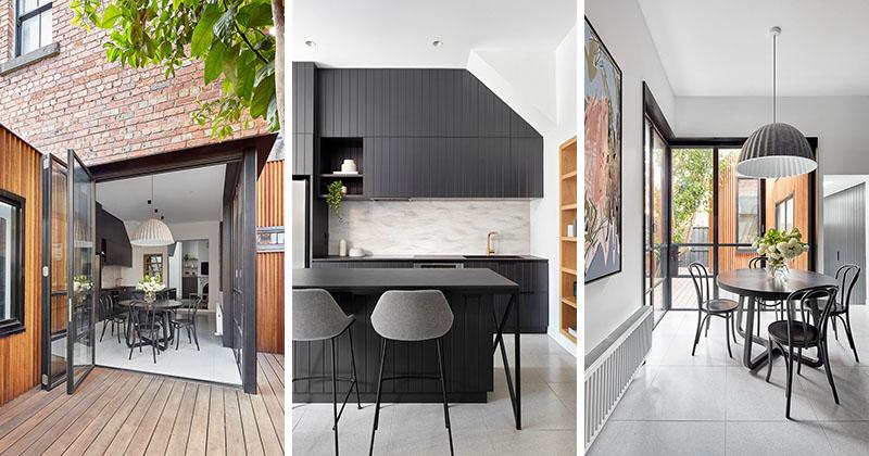 Dark Grey Cabinets White Countertops