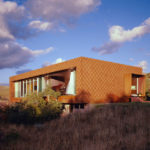 Siding Ideas – Weathering Steel Helps Blend This House Into Its Surroundings