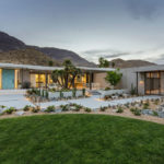 This Renovated Mid Century Modern House Sits On A Plateau Above Coachella Valley In California