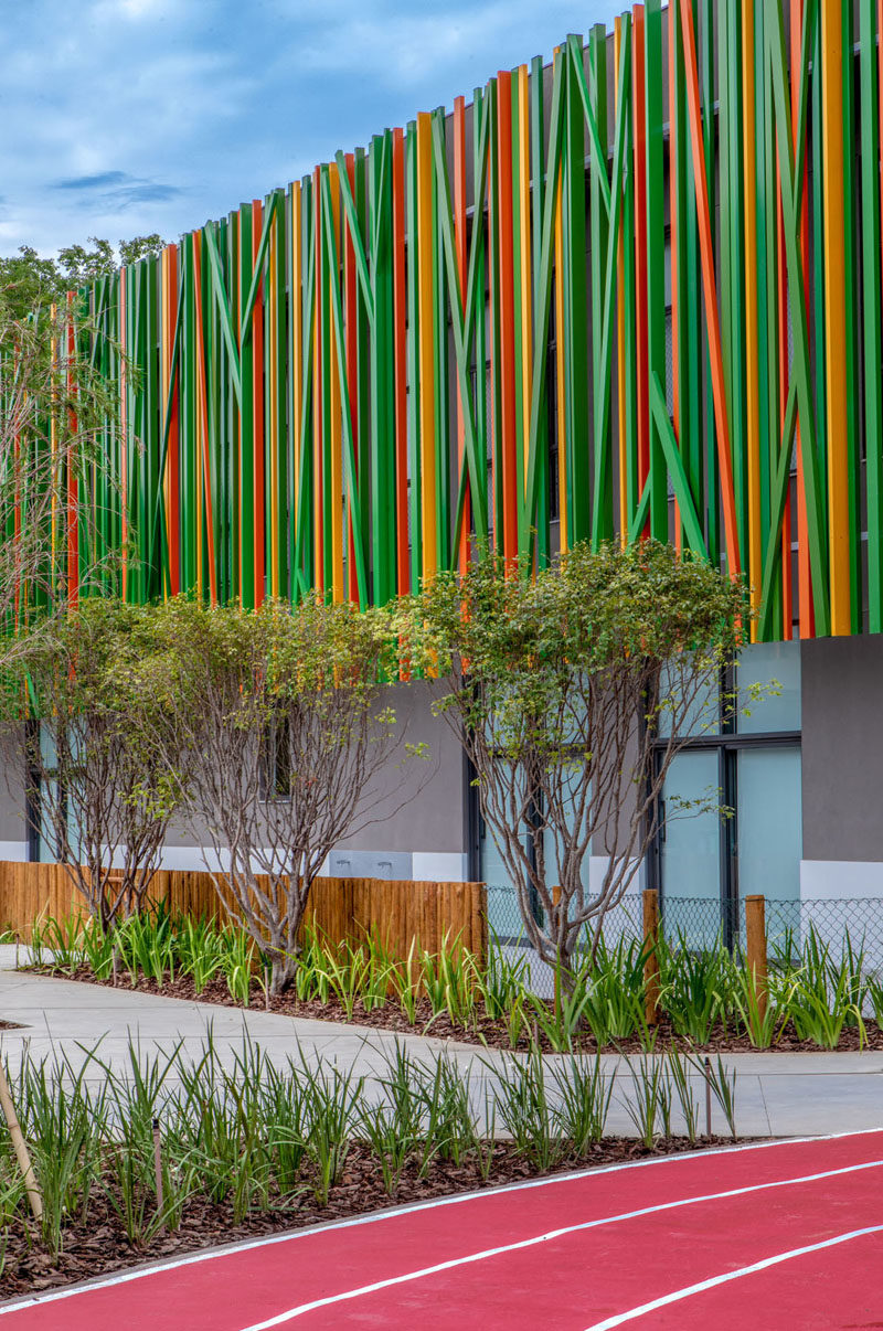 Eleva School by Miguel Pinto Guimaraes #SchoolDesign #Architecture
