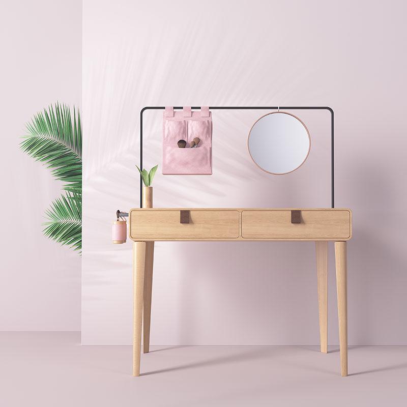 Essential Dressing Table by Linda Martins #FurnitureDesign #DressingTable