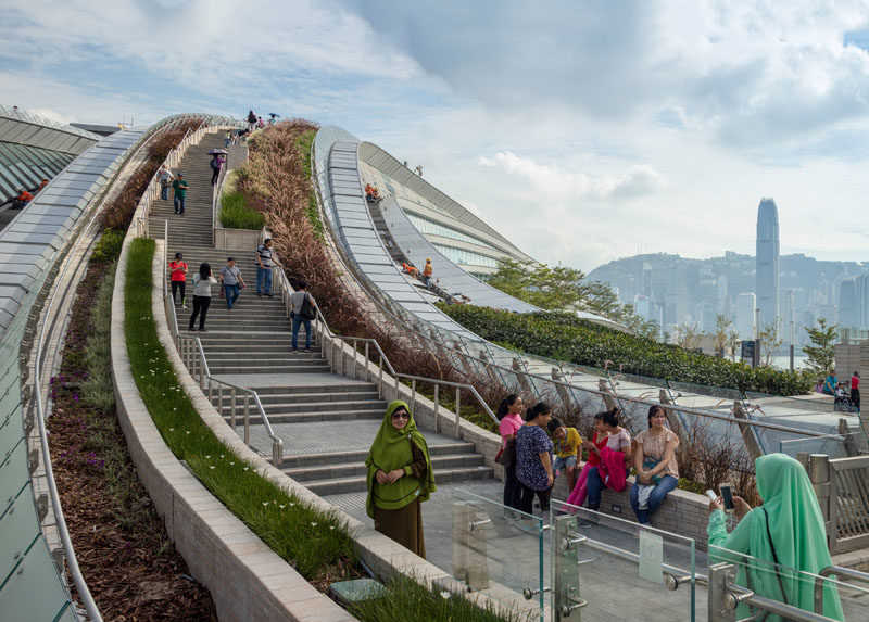 Hong Kong West Kowloon Station High-Speed Rail Terminus by Aedas #Landscaping #LandscapingIdeas #PublicSpaces