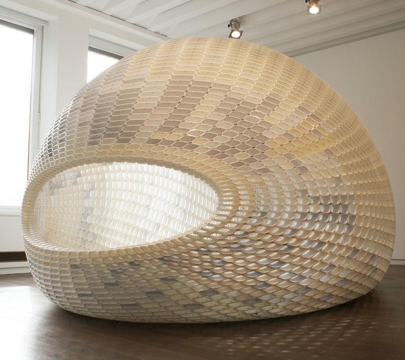 Project EGG Small Pavilion by Michiel van der Kley  –  A Design Award - #Sculpture #Pavilion
