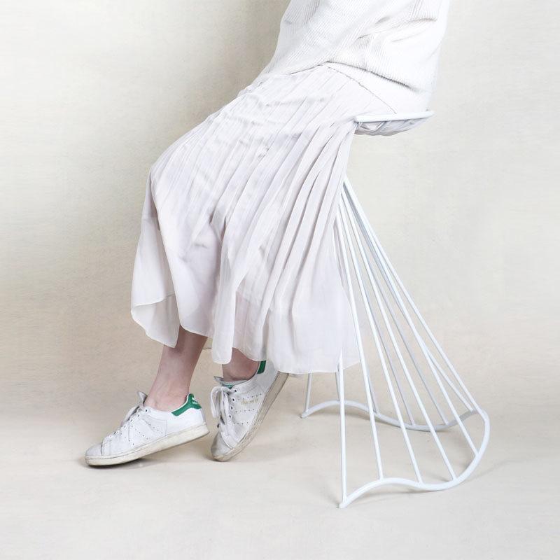 Waltz Stool by Junyi Zeng #Furniture #FurnitureDesign #Stool #Seating
