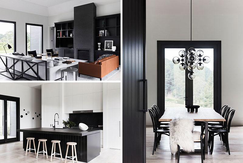 Studio Griffiths Designed A Black And White Interior For A ...