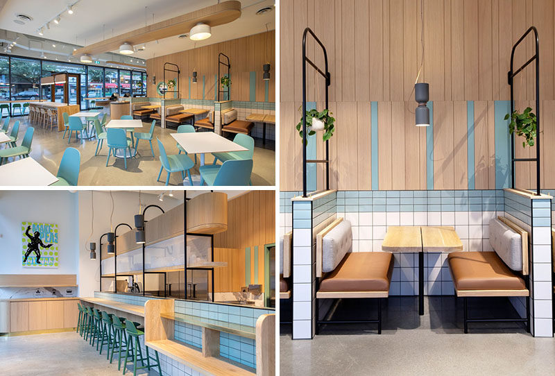 Evoke International Design Inc. has completed the interiors of Heirloom Ambleside, a modern fast casual restaurant that's located steps from the beach in West Vancouver, Canada.