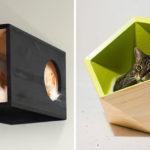 Cat Furniture Ideas – Catissa Creates Modern Cat Beds And Modular Cat Houses