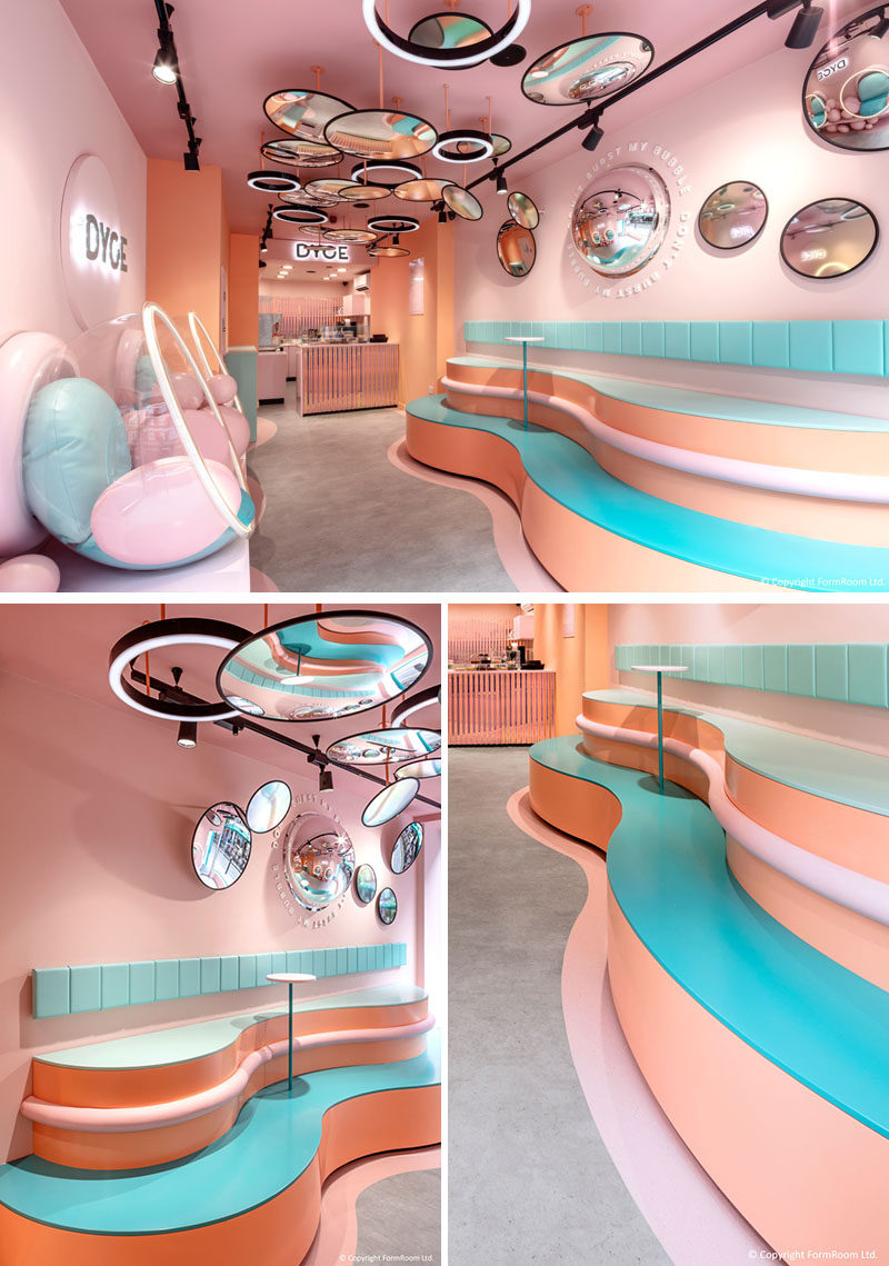 Dyce Dessert Bar Has Opened In London With A Pastel Pink