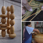 The 'Floating Towers' Hanging Woven Sculptures