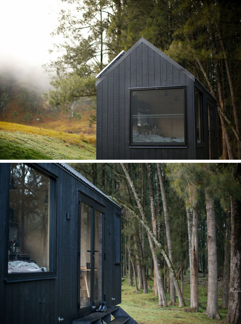 This Modern Tiny House Acts As A Mobile Off The Grid Cabin