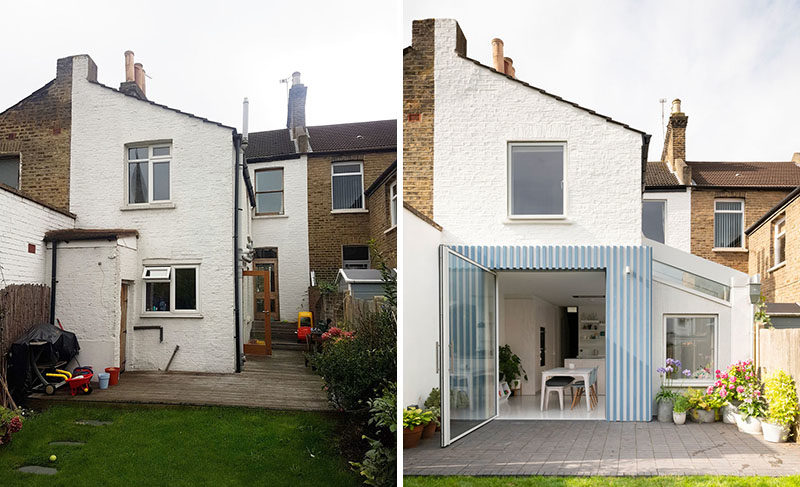 Before And After A Rear Extension Opens This House To The Garden