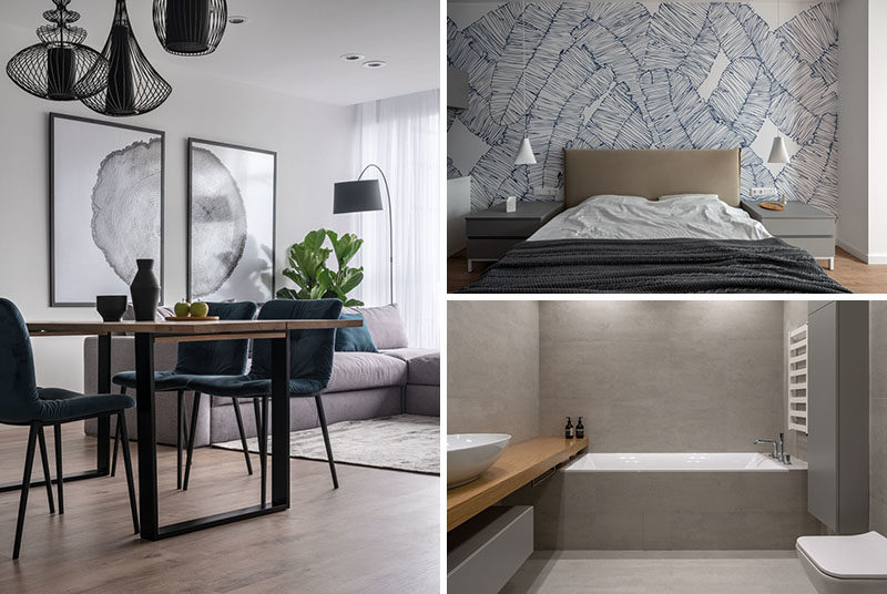 Nelly Prodan Design has recently completed a modern apartment for a family of three, that was once two separate dwellings. #ModernApartment #InteriorDesign #ModernInterior