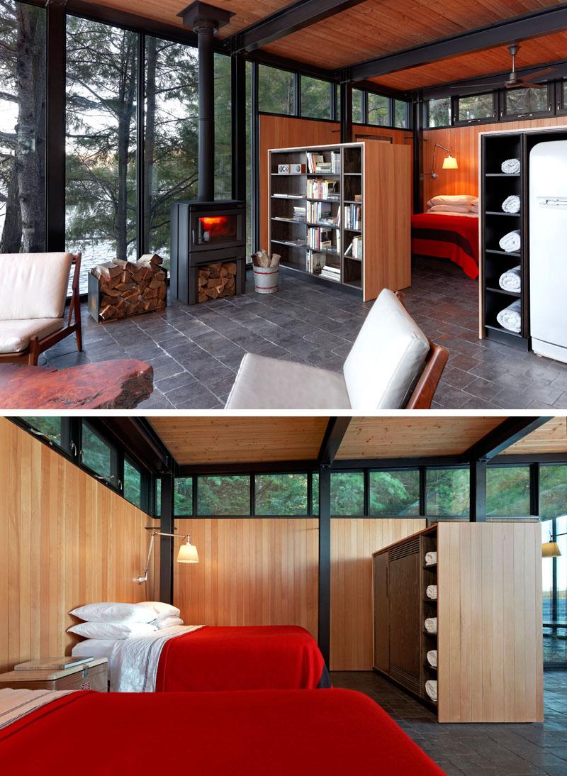 Modern Boat House Open Bedroom Clerestory Windows 090919 1103 04
