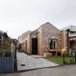 This New House Covered With Shingles Adds Some Woodly Charm To The Street